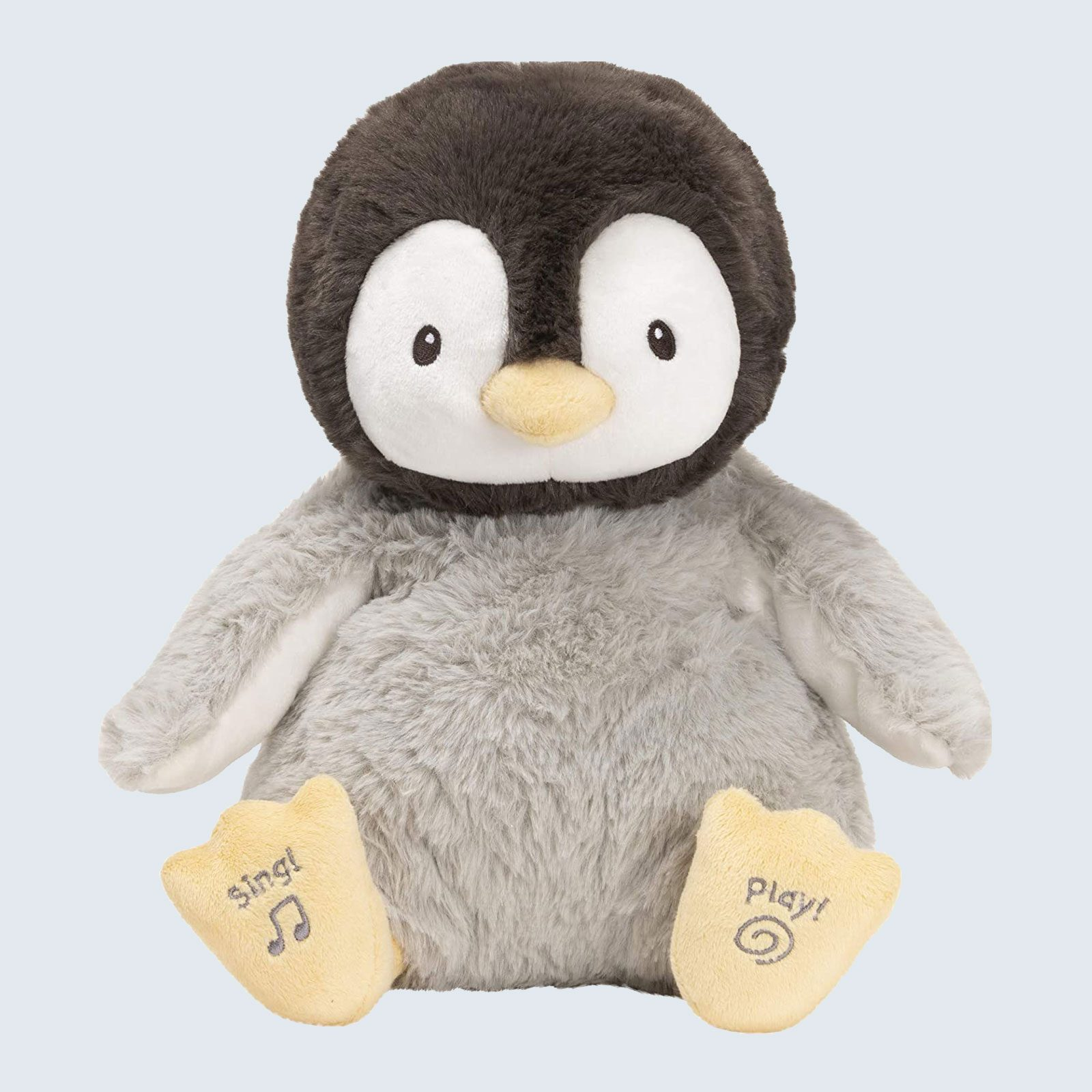 For the cutest little kissy face: GUND Animated Kissy The Penguin Stuffed Animal Plush