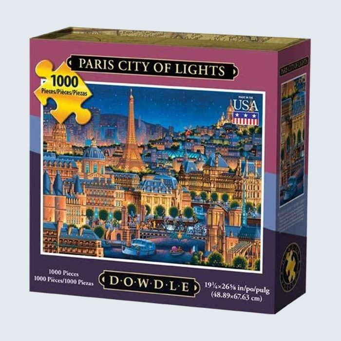 For the one who misses the City of Lights: Dowdle Wooden Paris Jigsaw Puzzle