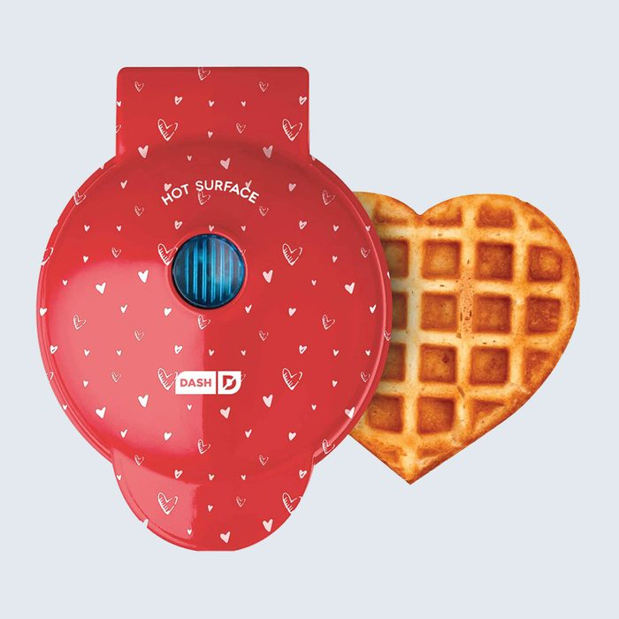For the sweetest heart: Dash Mini Heart Waffle Maker