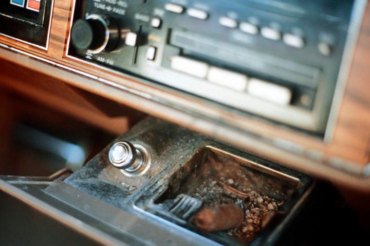 car ashtray cigarette lighter
