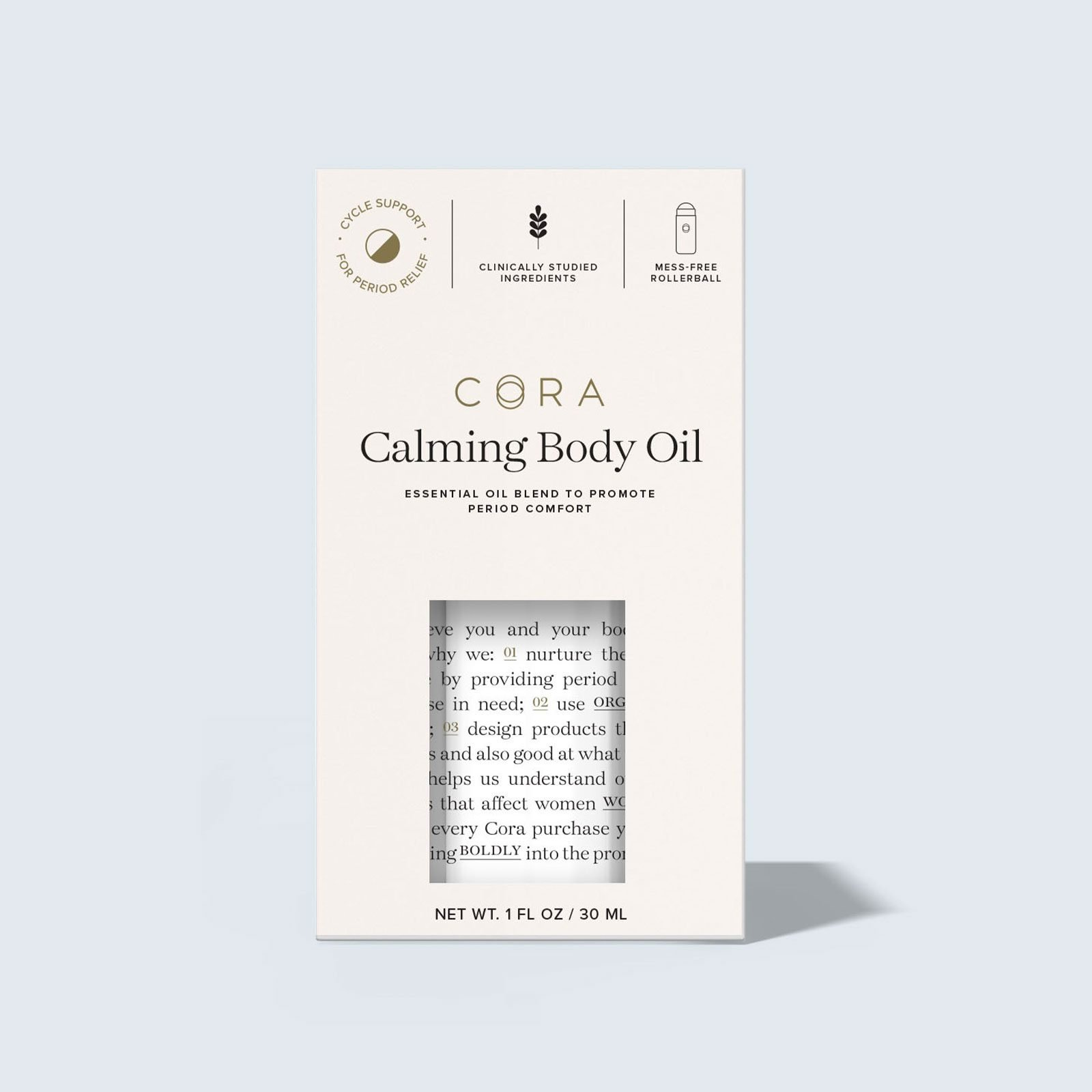 For just about any gal on your list, Cora Calming Body Oil