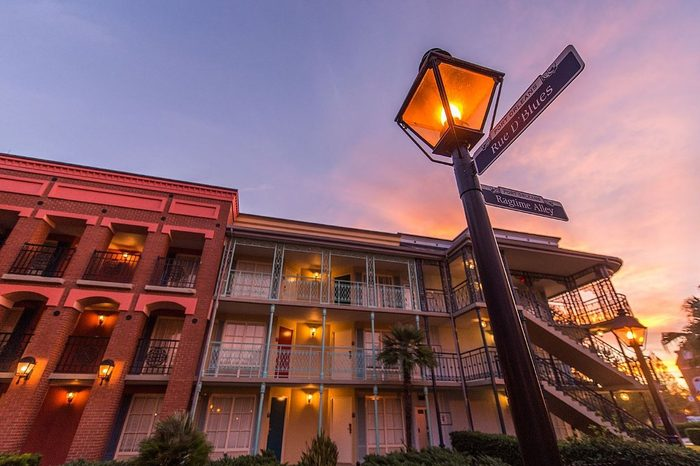 port orleans Disney Hotels with the Best Views