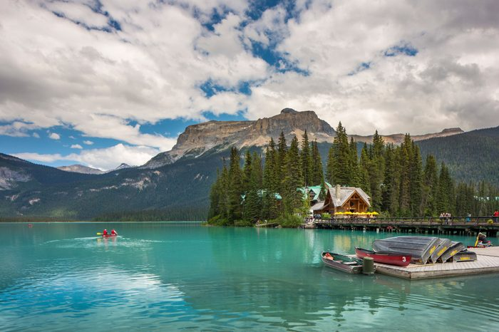 Emerald Lake Lodge, British Columbia, Canada