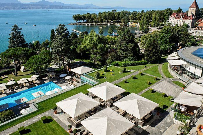The Beau-Rivage Palace, Lausanne, Switzerland