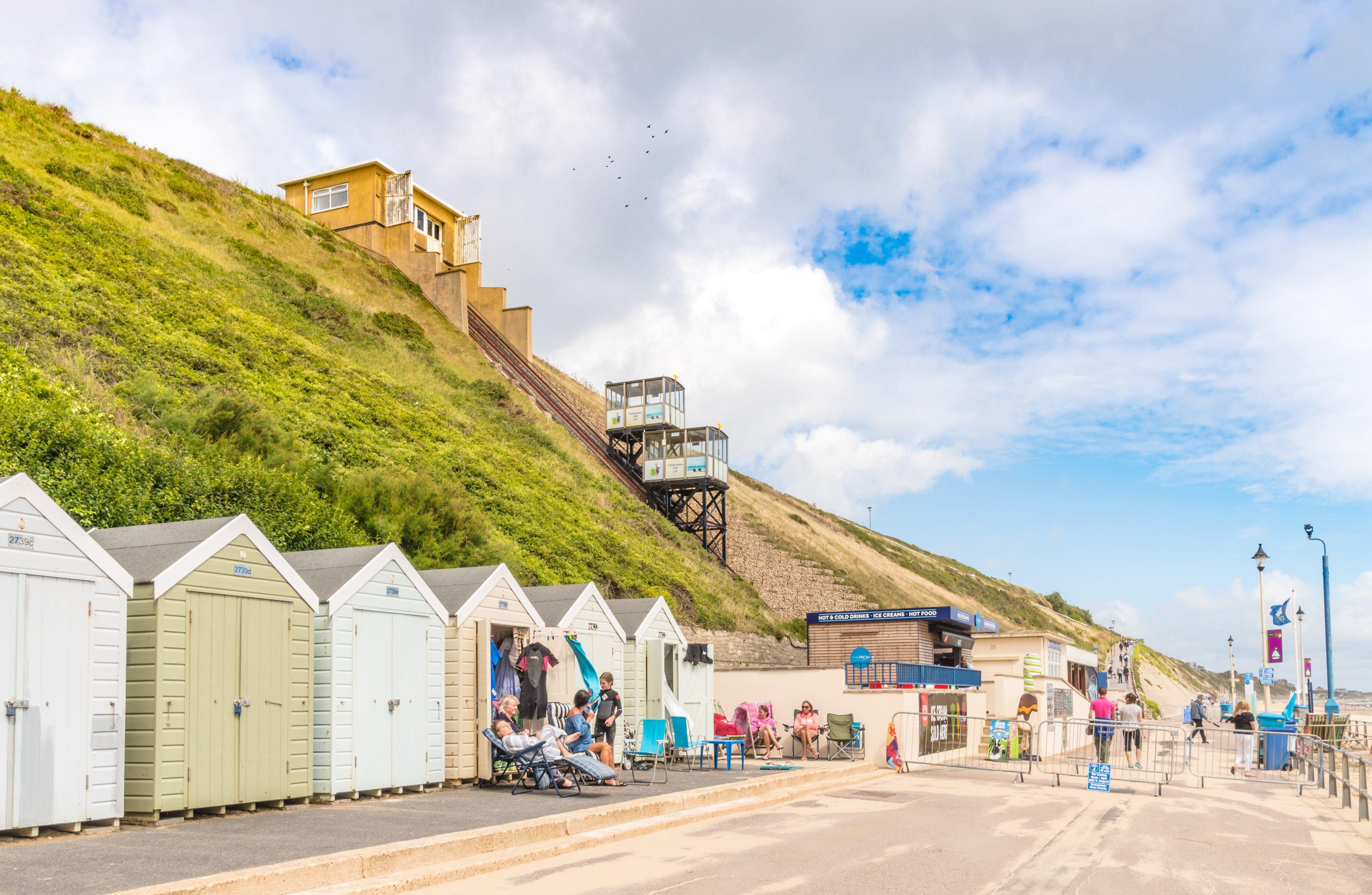 Fisherman's Walk Cliff lift railway UK