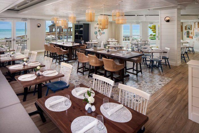 Four Marlins restaurant n Key West, Florida