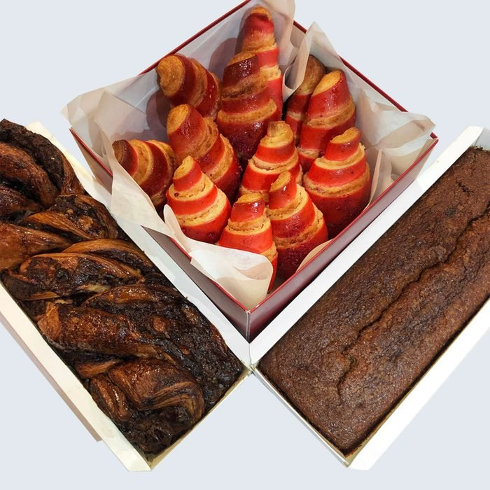 For the one craving an authentic taste of New York: Breads Bakery Valentine's Day Roselach + Chocolate Combo
