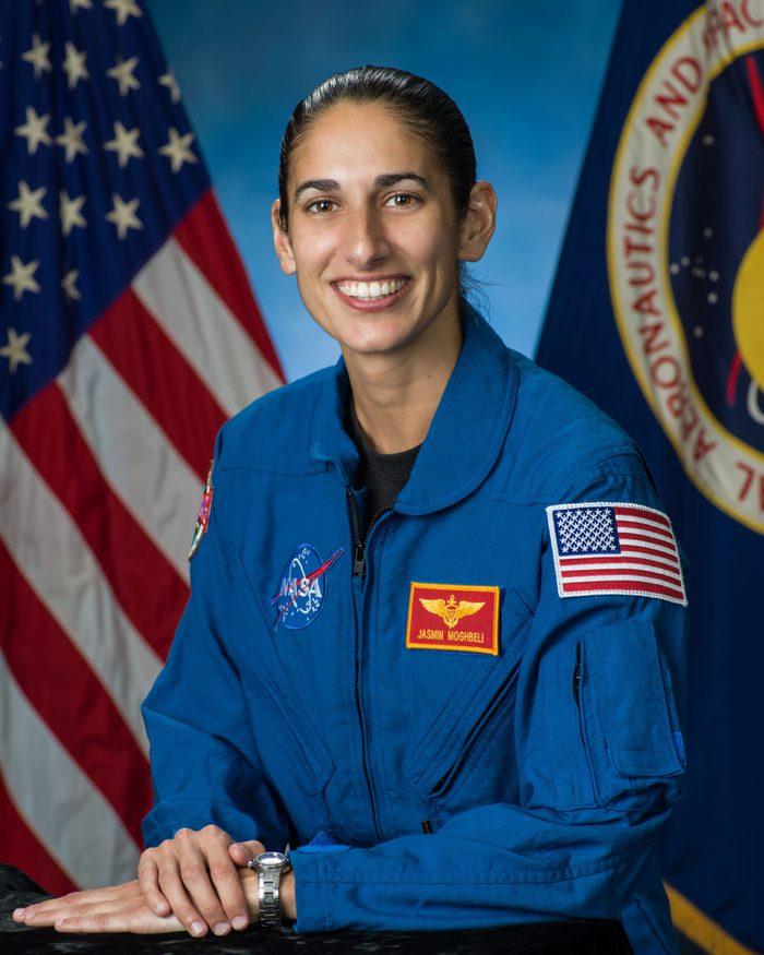 JASMIN MOGHBELI nasa astronaut female