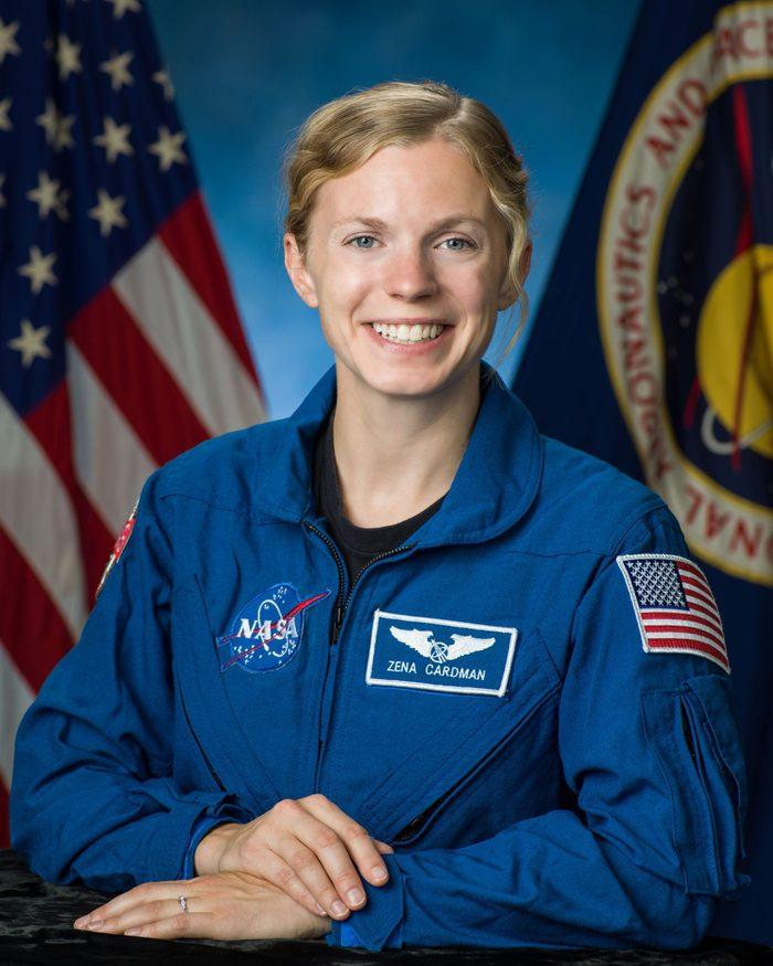 ZENA CARDMAN nasa astronaut female