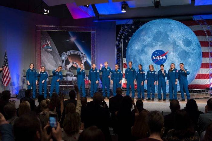 NASA 2017 astronaut candidates