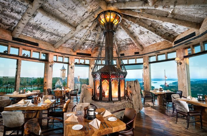 the Big Cedar Lodge in Missouri