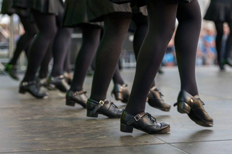 folk jig irish dance hard shoes