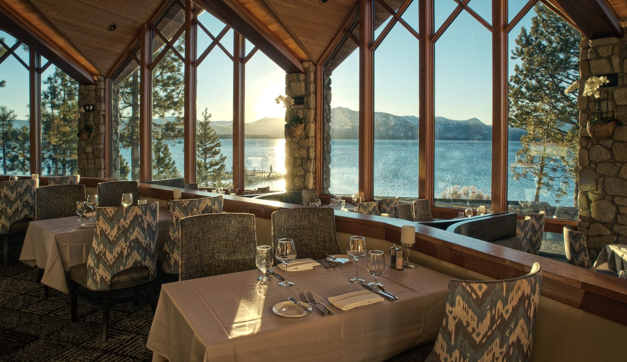 Lake Tahoe, Edgewood Restaurant, Nevada