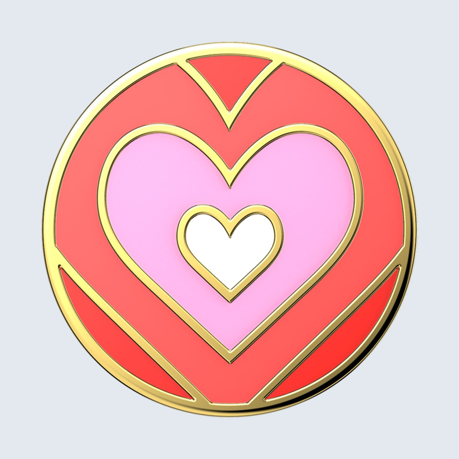 For the iPhone user: PopSockets Enamel Love Shack PopGrip