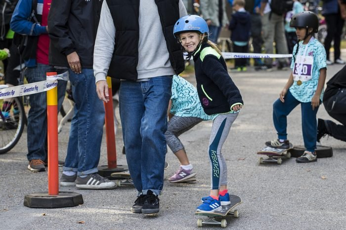 princess estelle skateboarding
