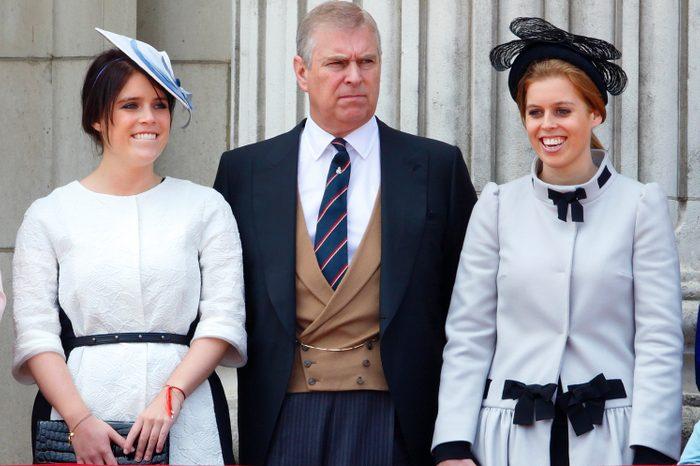 Prince Andrew princesses Beatrice Eugenie