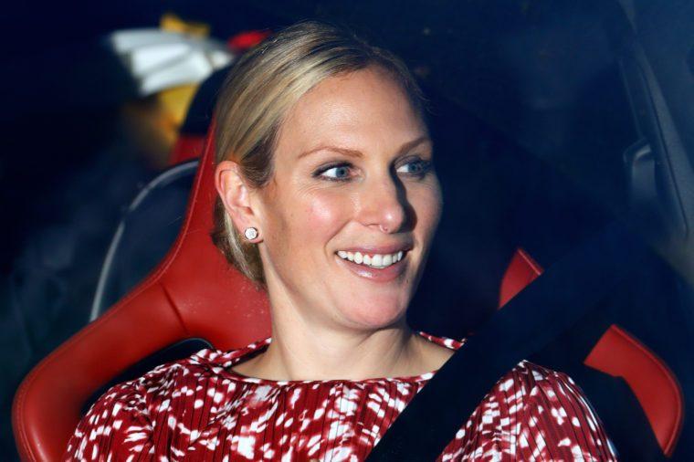 zara phillips driving test