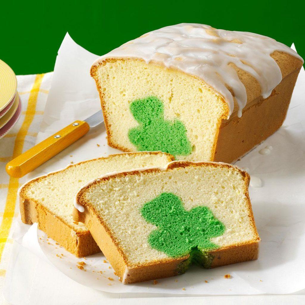 Shamrock-Cutout-Pound-Cake