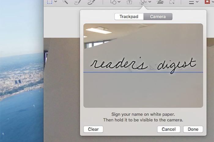 mac laptop tricks signature