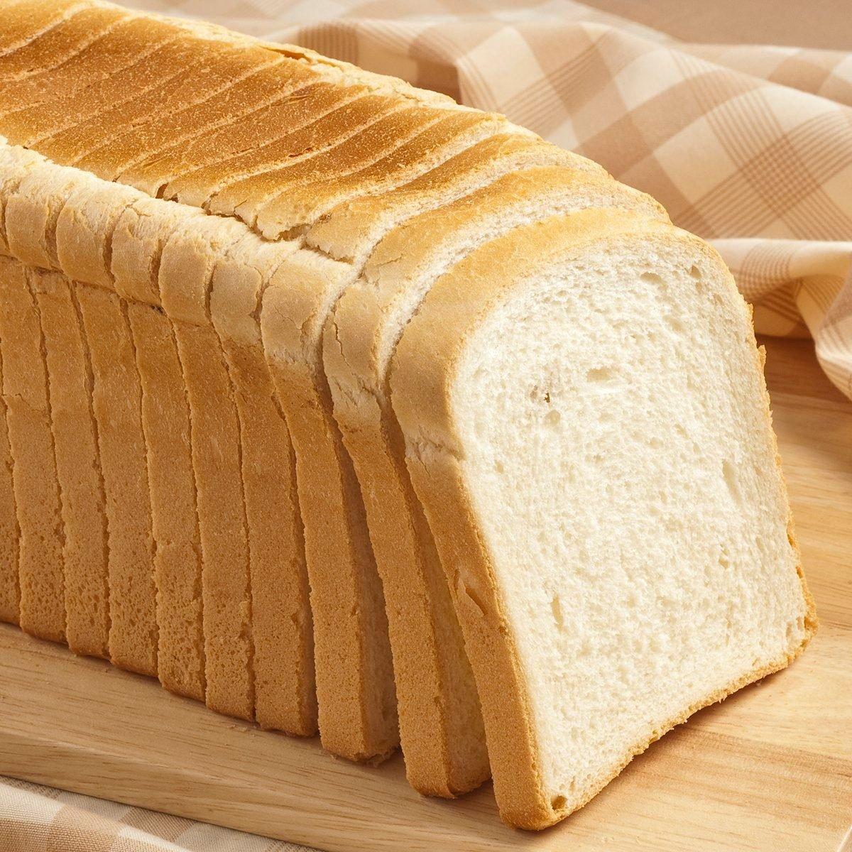 sliced toast bread