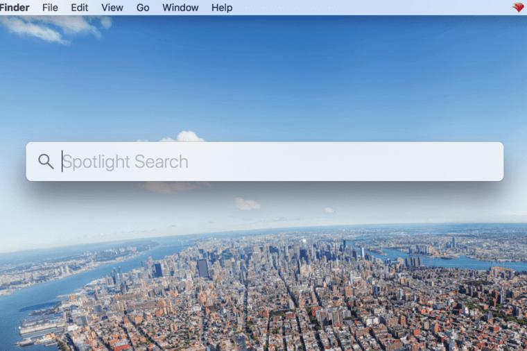 spotlight search mac laptop tricks
