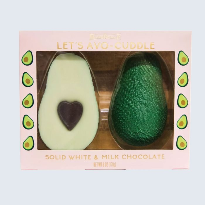For the guac lover:Let's Avo-Cuddle Chocolate