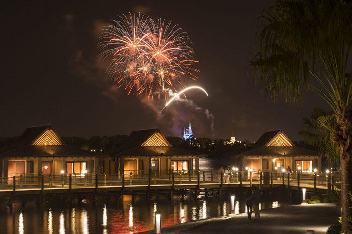 bora bora bungalows polynesian Disney Hotels with the Best Views