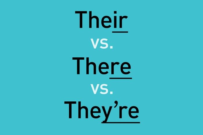 text: their vs. there vs. they're