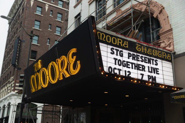 the moore theater seattle washington
