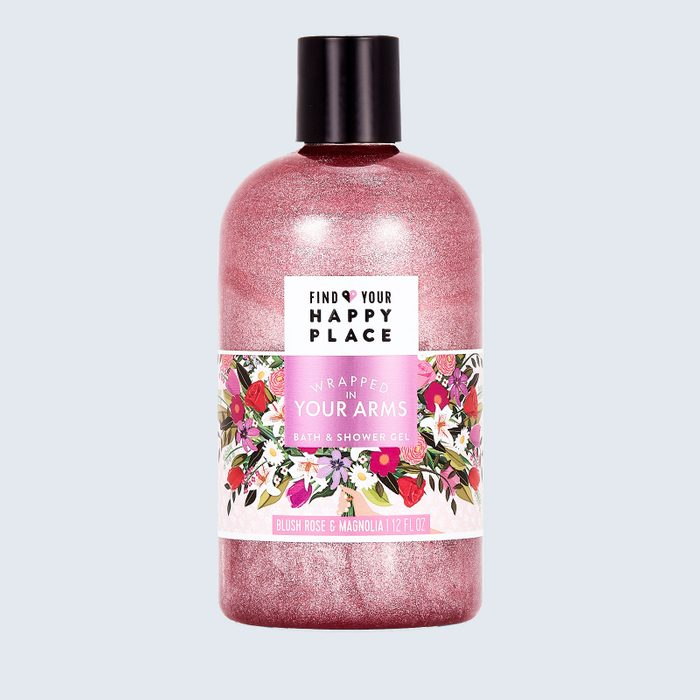 For anyone in need of sparkles, bubbles, and calm: Find Your Happy Place Wrapped in Your Arms Indulgent Bubble Bath