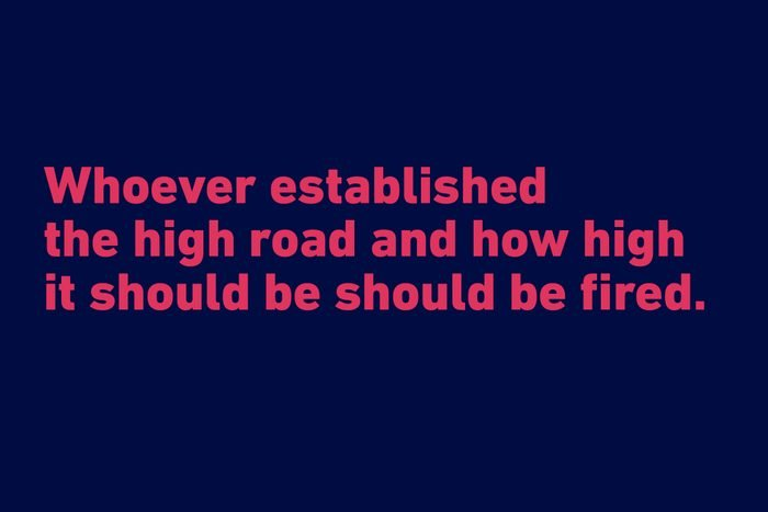 funny quotes high road sandra bullock
