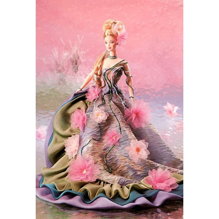 water lily monet barbie doll