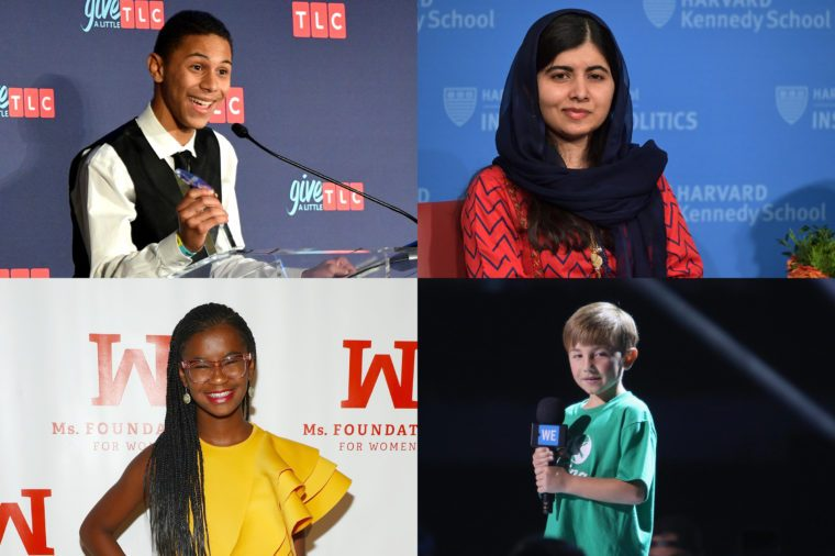 14 incredible kids who changed the world