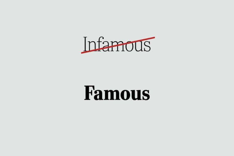 phrases you're using wrong famous