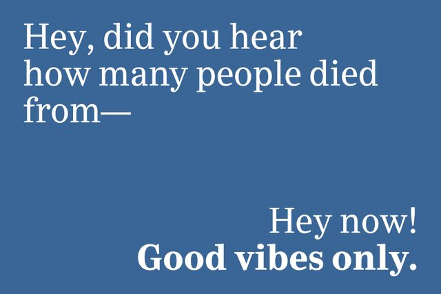 good vibes only slang 2020