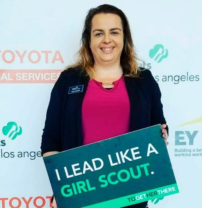 girl scout Lisa Axelrod