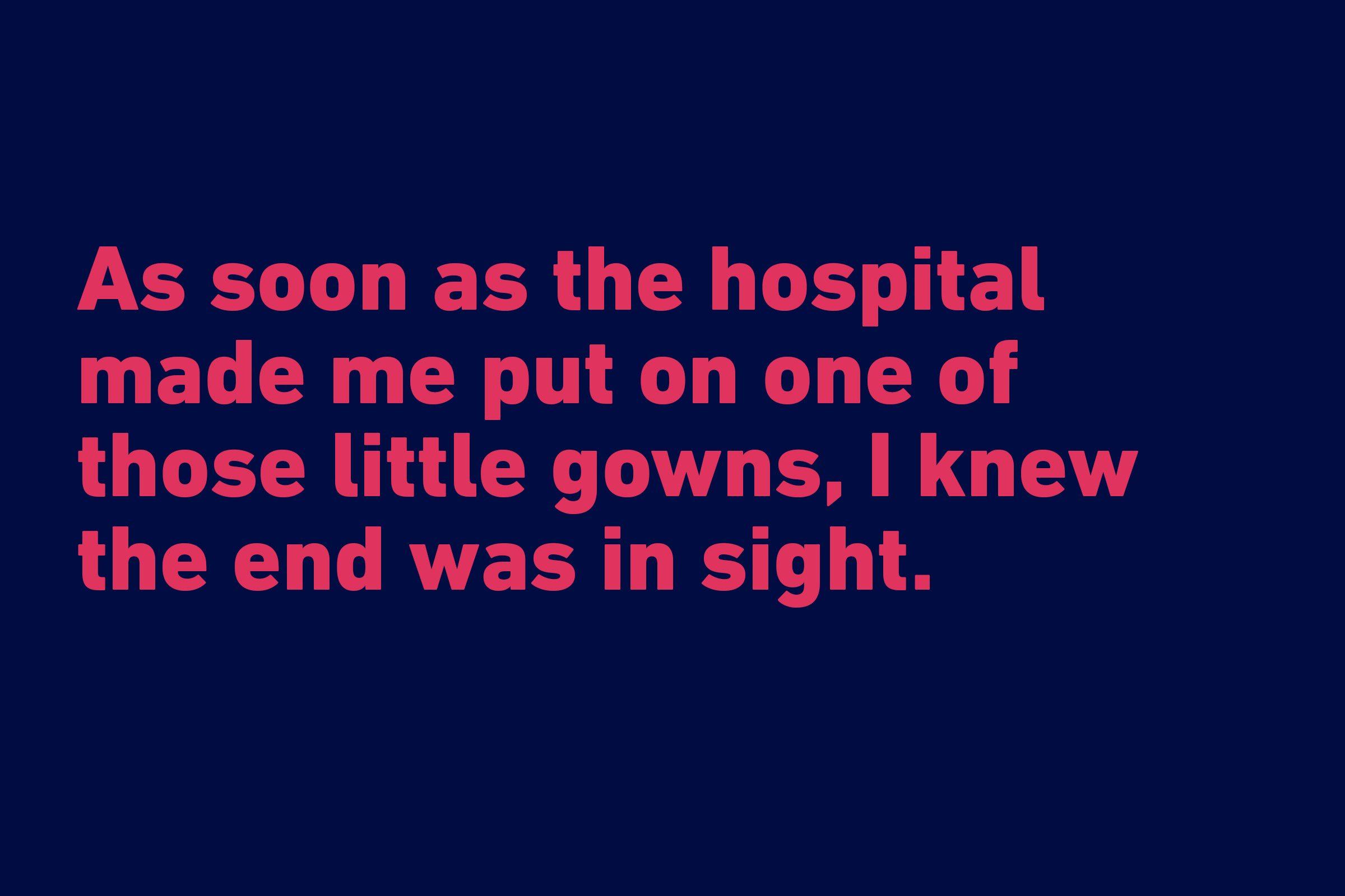 funny quote adam joshua smargon hospital