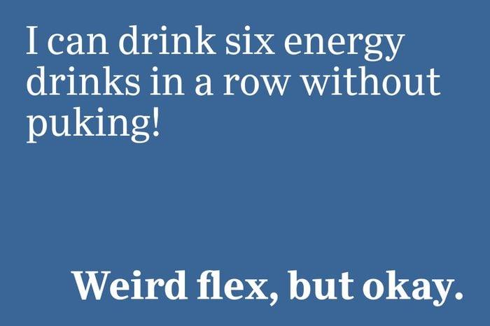 weird flex but okay slang 2020