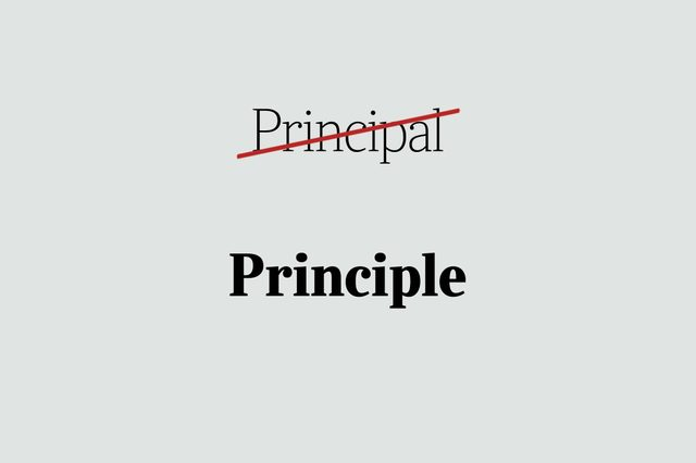 phrases you're using wrong principle