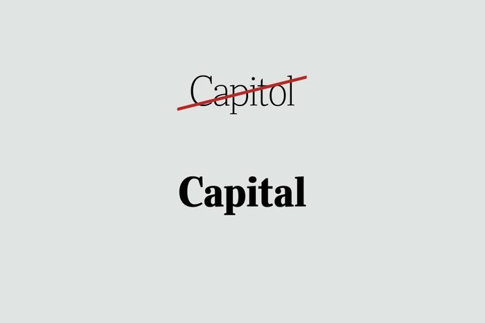 phrases you're using wrong capital
