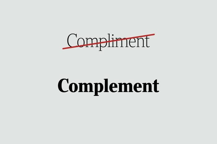 phrases you're using wrong complement