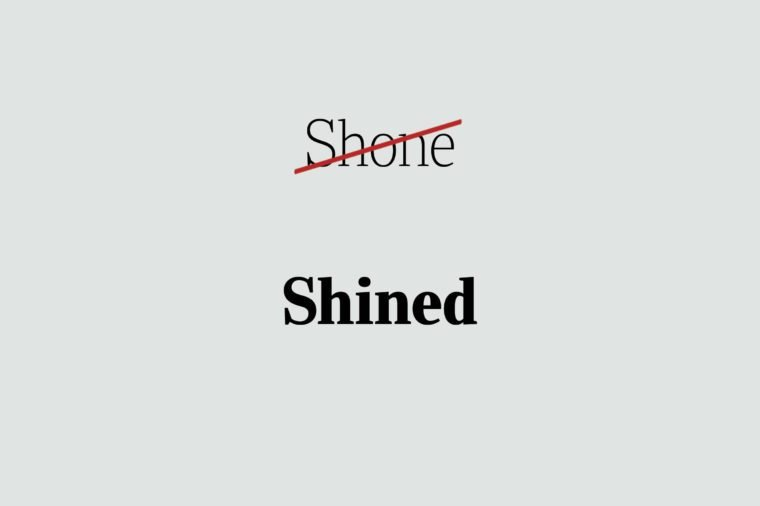 phrases you're using wrong shined