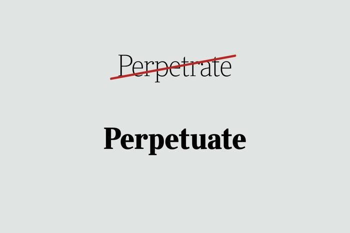 phrases you're using wrong perpetuate
