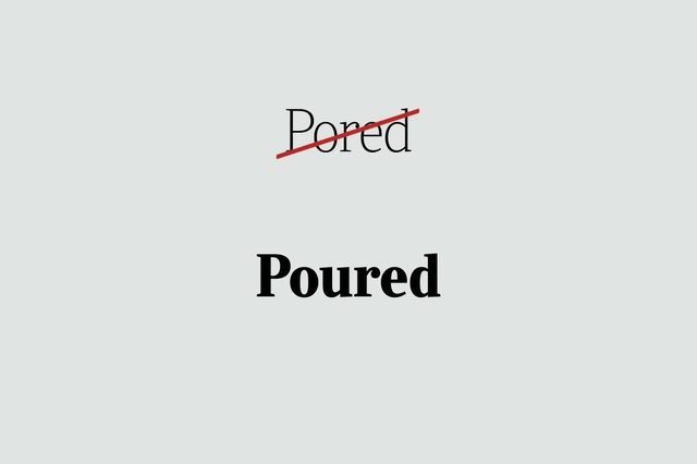 phrases you're using wrong poured