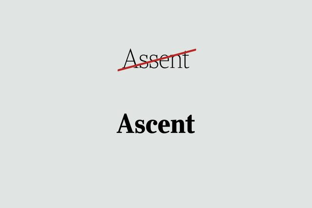 phrases you're using wrong ascent