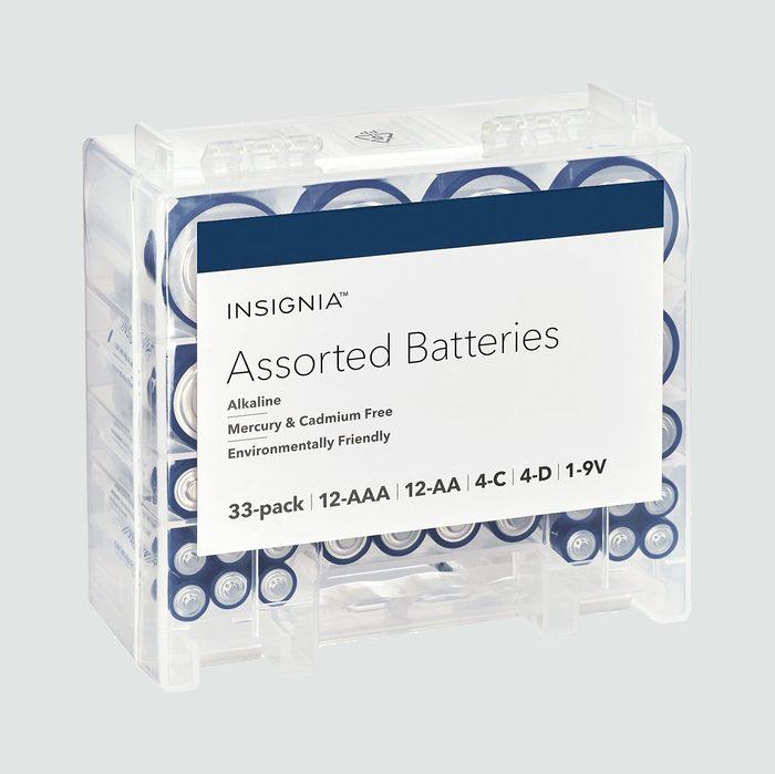 assorted batteries