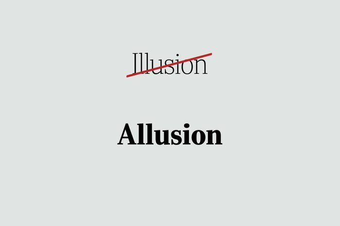 phrases you're using wrong allusion