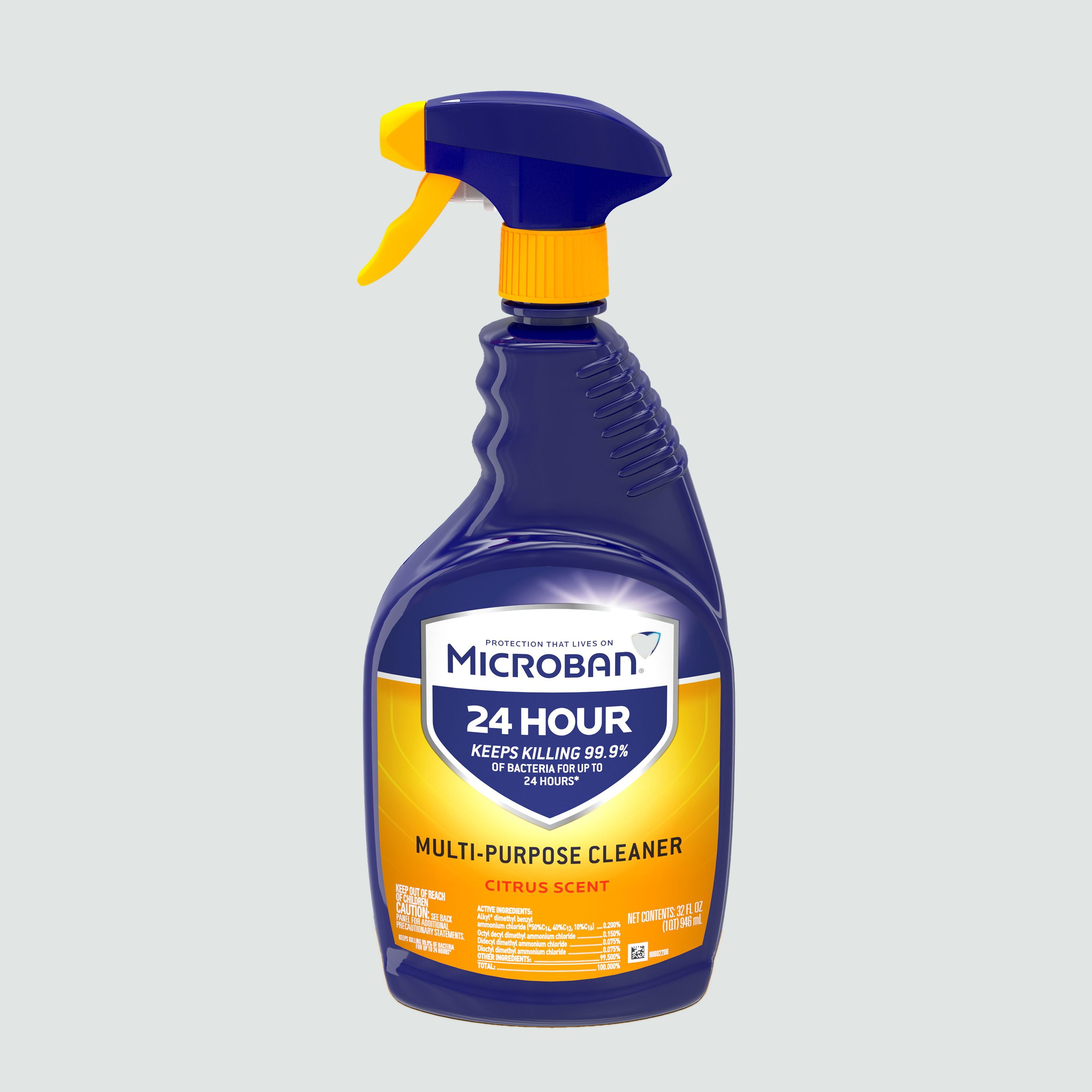 microban 24 hour multi surface cleaner