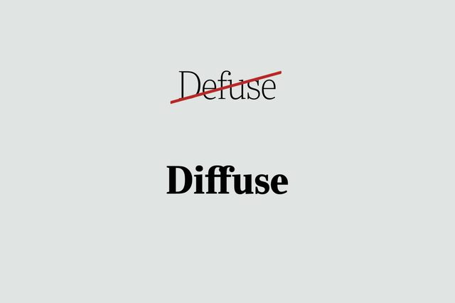phrases you're using wrong diffuse