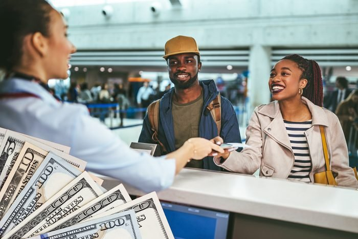 airline voucher cash